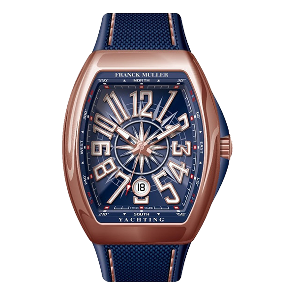 Franck Muller Vanguard Yachting Rose Gold