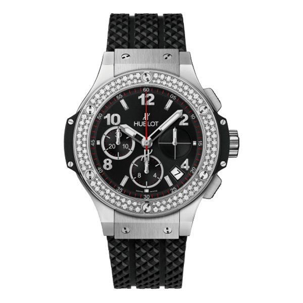 Hublot Big Bang Chronograph Steel Diamonds