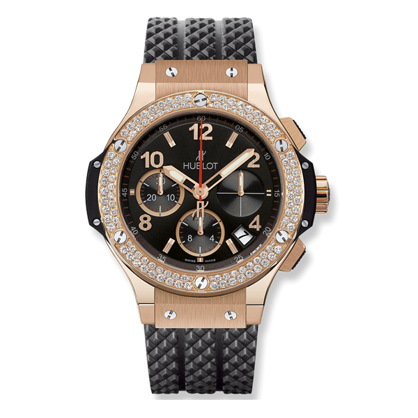 Hublot Big Bang Chronograph King Gold Diamonds
