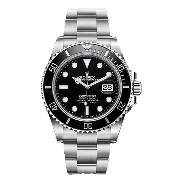 Rolex Submariner Date Steel Black Bezel & Dial  - New Model 2020