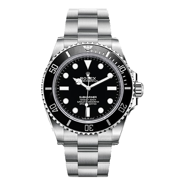 Rolex Submariner Steel Black Bezel & Dial - New Model 2020