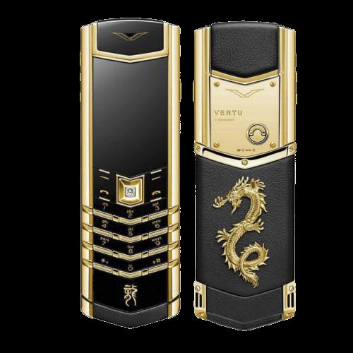 Vertu Signature S Dragon Yellow Gold