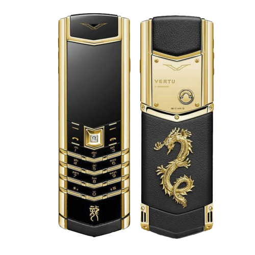 Vertu Signature S Dragon Yellow Gold