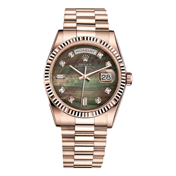 Rolex Day Date Everose Gold Mother of Pearl